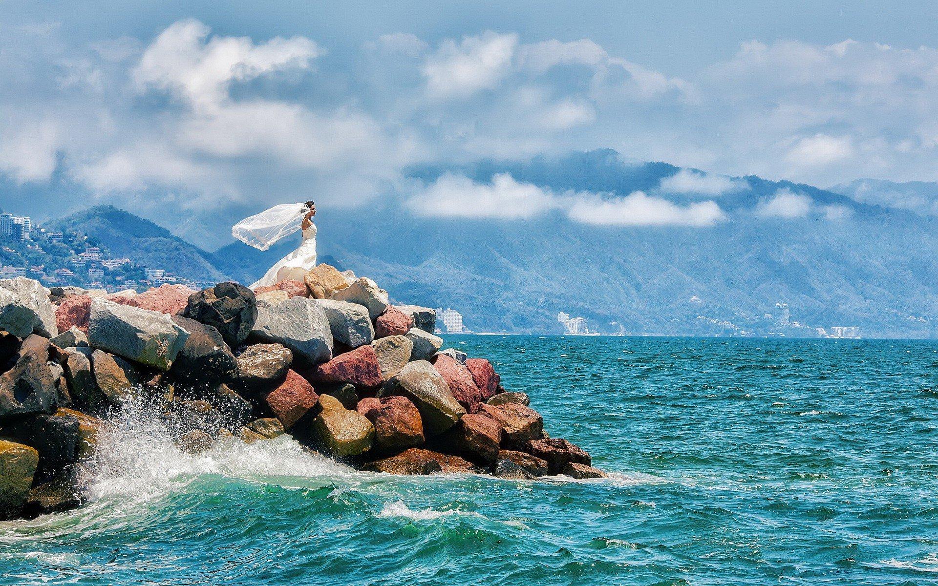 Фото сосків на морі 30 фотография