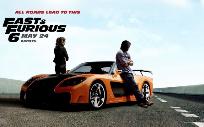 Fast and Furious 6 / Форсаж 6