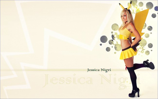 Jessica Nigri Сosplay Pokemon