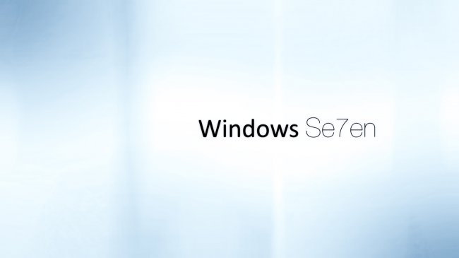 Windows 7 White