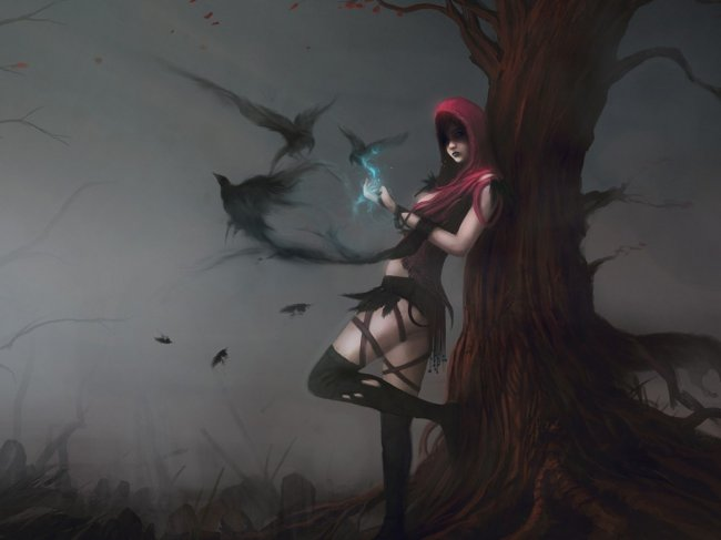 Morrigan artwork