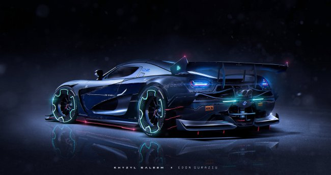 Koenigsegg Agera Vehicle Concept Design