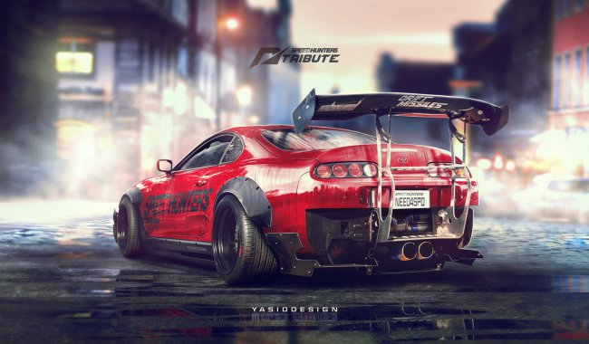 Speedhunters Toyota Supra - Need For Speed Tribute