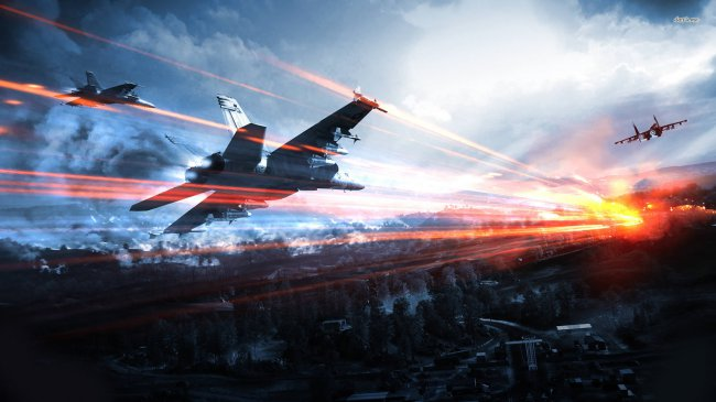 Battlefield 3 Airplanes