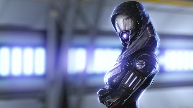 Tali Zorah Mass Effect