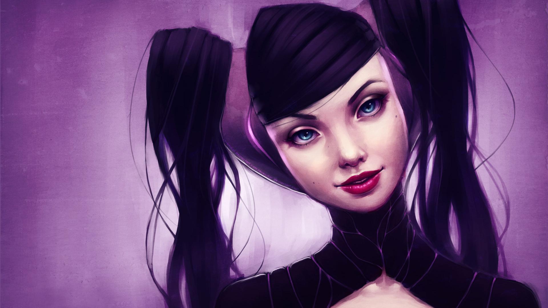 Лица девушек с хвостиками фото 670-969