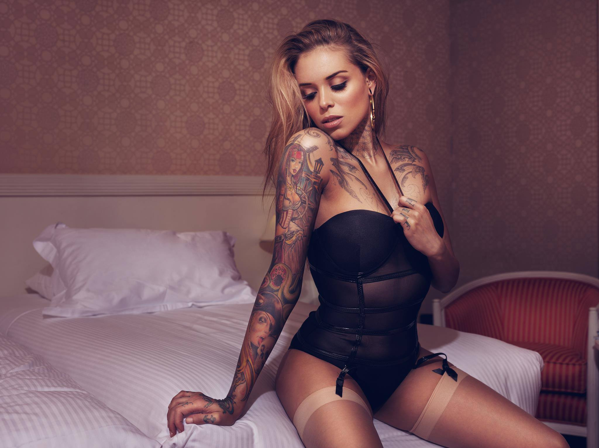 Татуировки на девках фото 5 фотография
