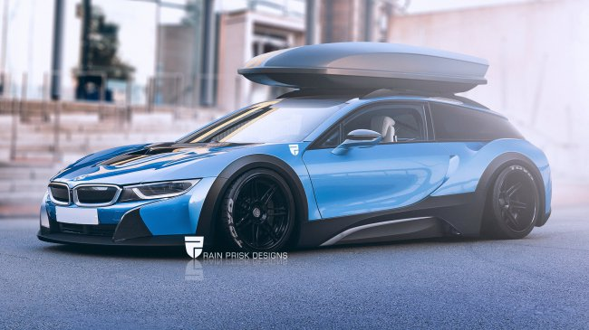 BMW i8 Shooting Brake