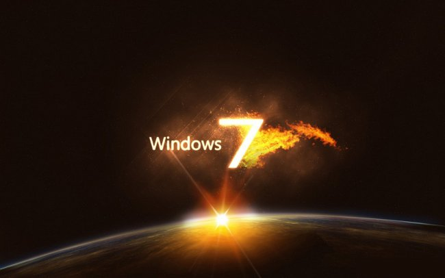 Microsoft Windows 7 Planet