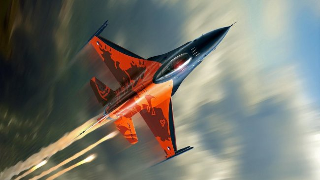 Истребитель F-16 Fighting Falcon