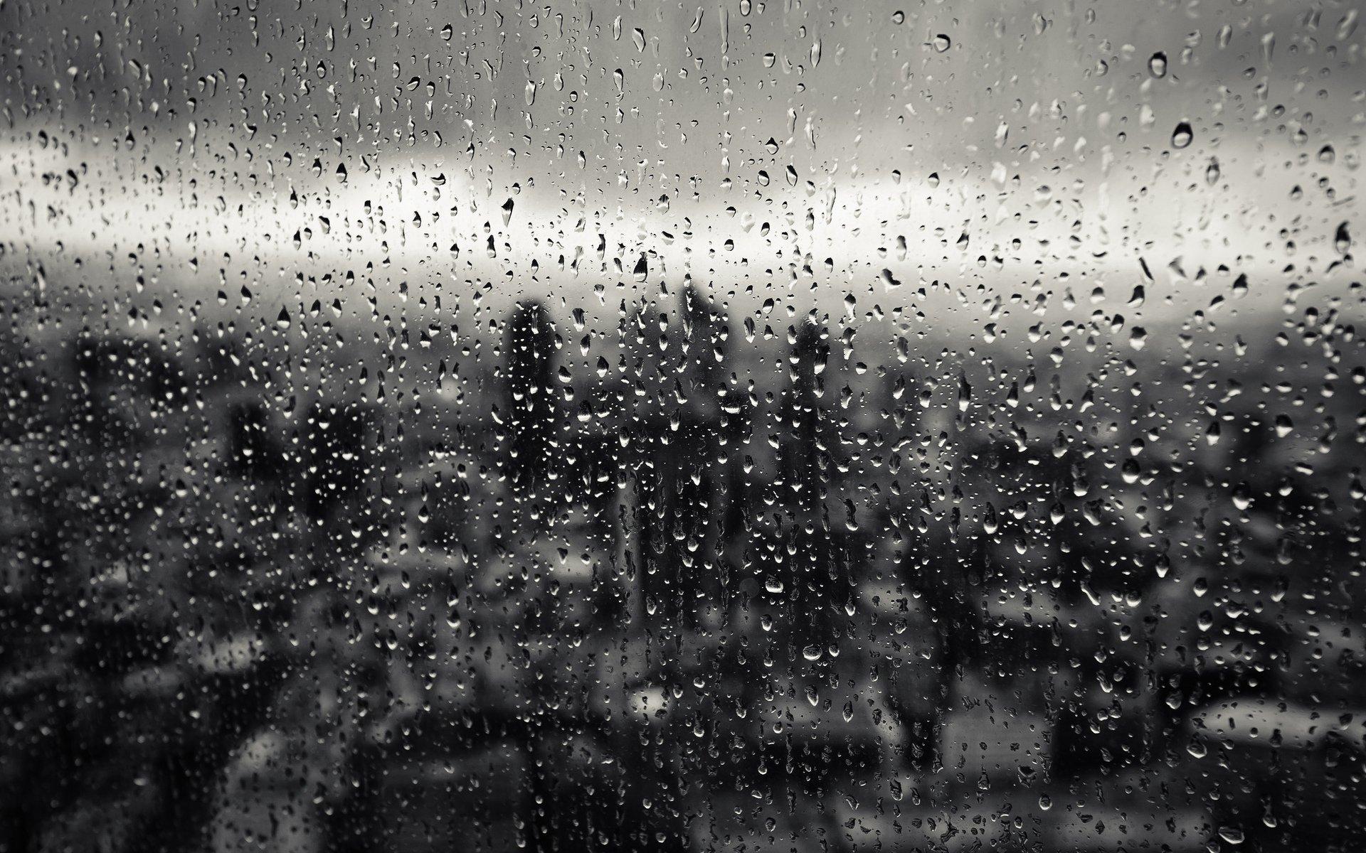 Обои капли, дождь, стекло. Разное foto 12