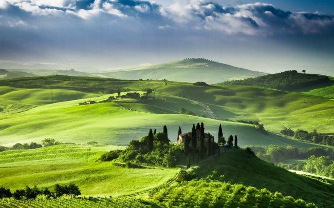 Италия - Тоскана