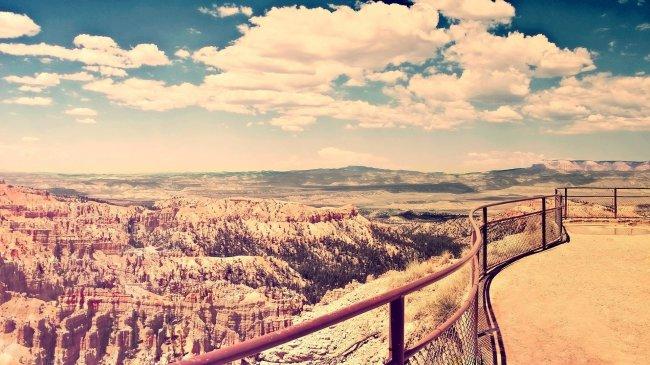 Небо над каньоном