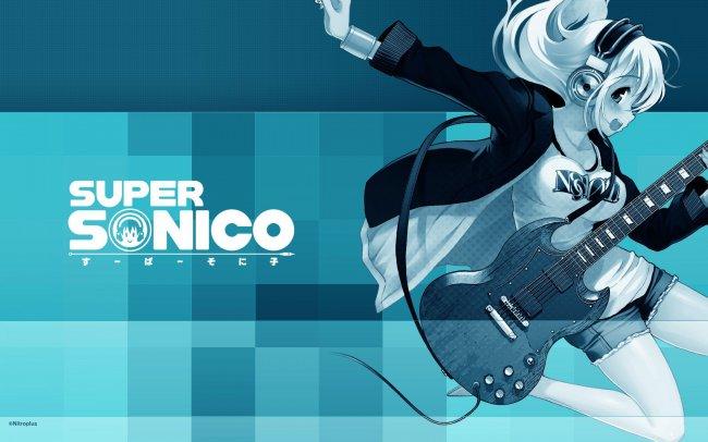 Super Sonico / Аниме Супер Сонико