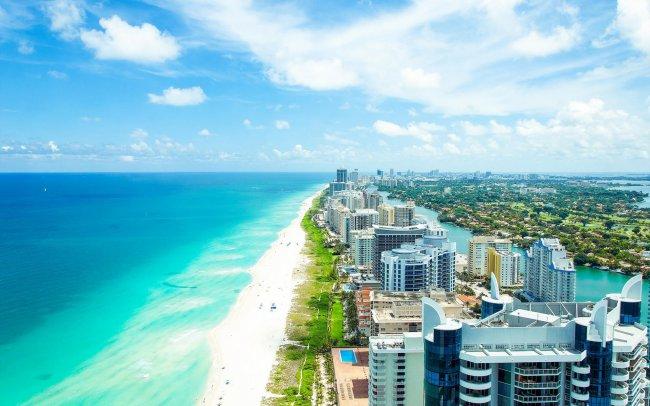 Побережье Майами, Флорида
