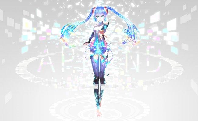 Vocaloid Hatsune Miku / Вокалоид Хатцуне Мику