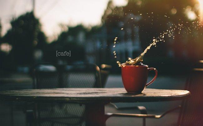 Брызги кофе