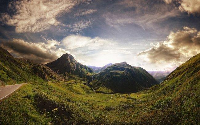 Перевал Фурка, Швейцария