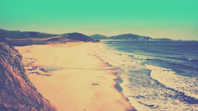 Великолепный вид побережья