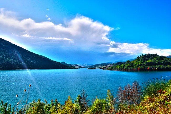 Озеро Castreccioni / Италия