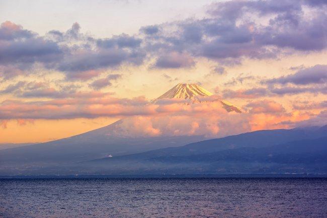 Вулкан Фудзияма, Япония