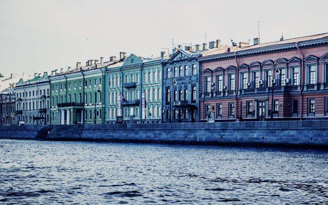 Река Нива в городе Санкт-Петербург
