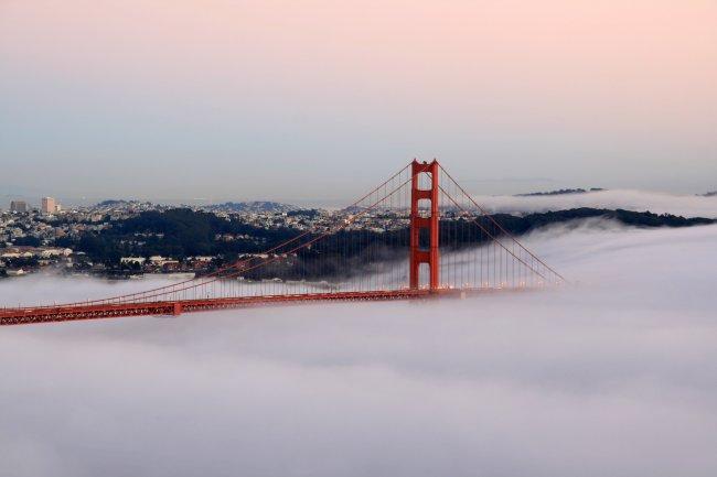 Golden Gate Bridge (Мост Золотые Ворота) / Калифорния