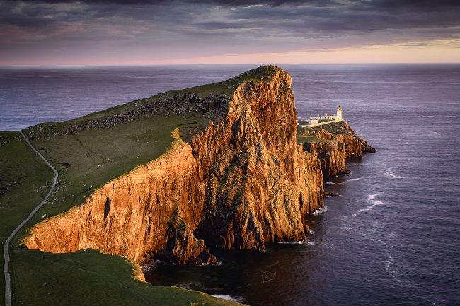Остров Скай в архипелаге Внутренние Гебриды, Шотландия