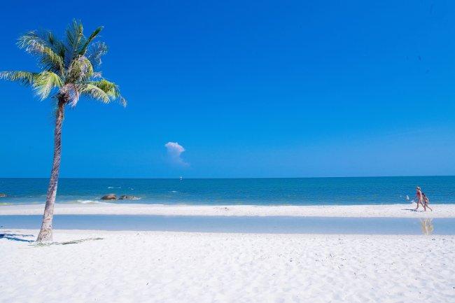Пляж Хуахин в Тайланде