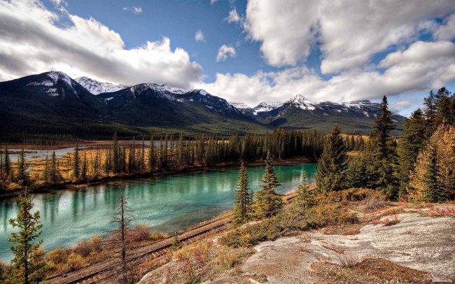 Национальный парк Банф в Канаде