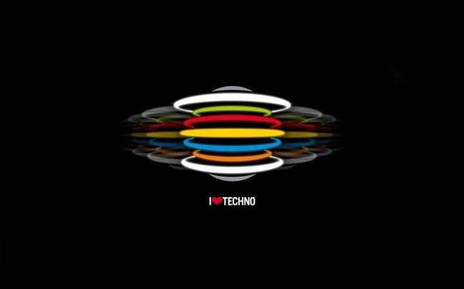 Я люблю техно