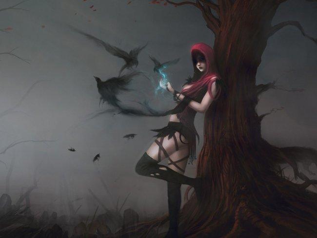 Morrigan artwork