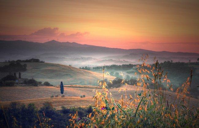 Пейзаж Тосканы