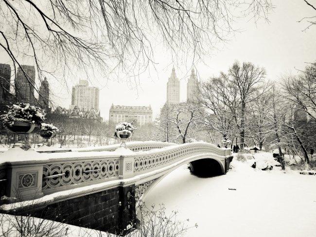 Зимний Нью-Йорк