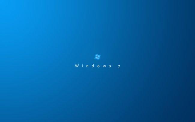 Windows 7 Blue