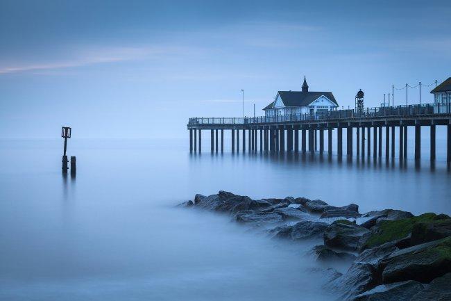 Морской пирс в Англии