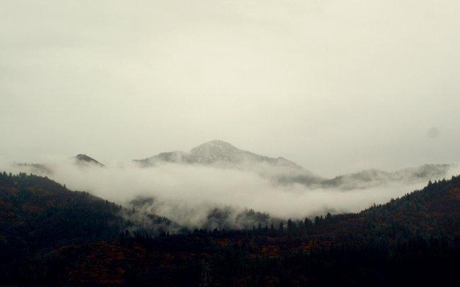Горы в Орегоне