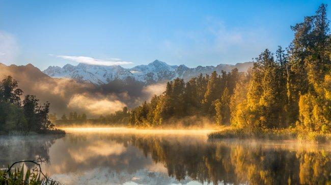 Осенне-зимний пейзаж