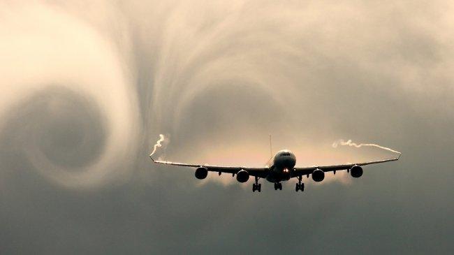 Airbus A340 в полете