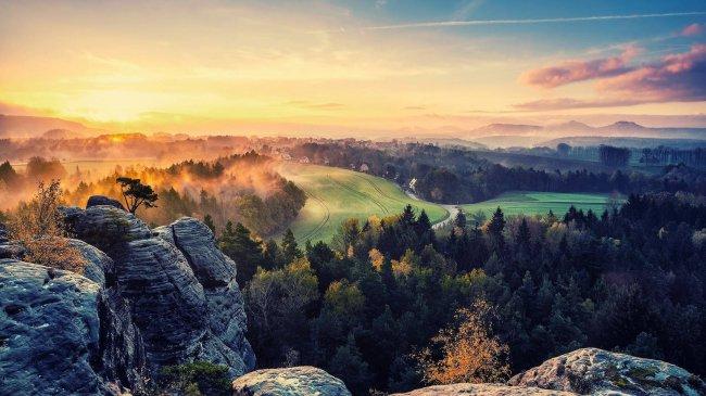 Саксонская Швейцария, национальный парк в Германии