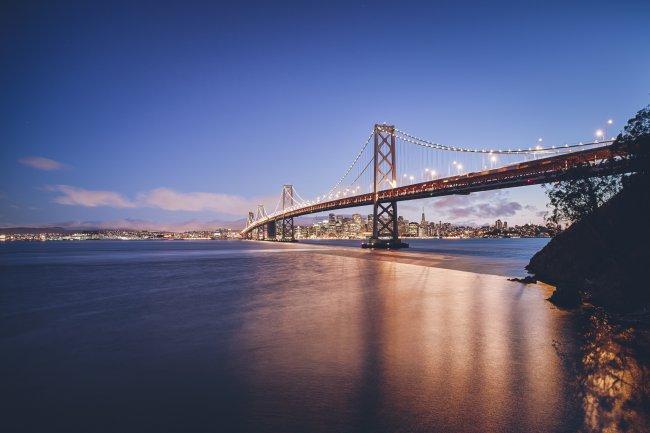 Мост Золотые Ворота в Калифорнии