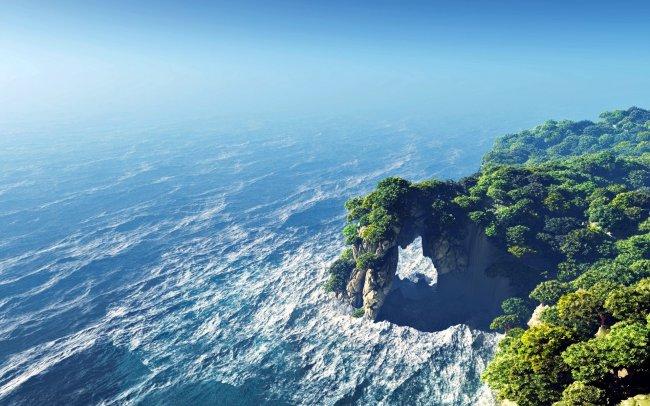 Остров Рендер