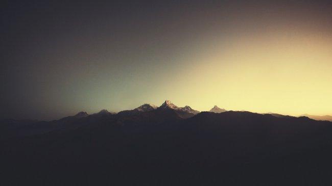 Аннапурна в Гималаях