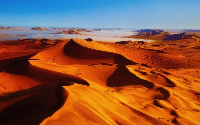 Золотые пески пустыни