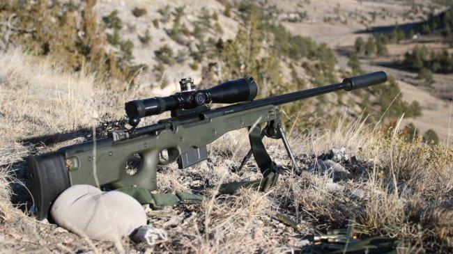 Английская снайперская винтовка L96