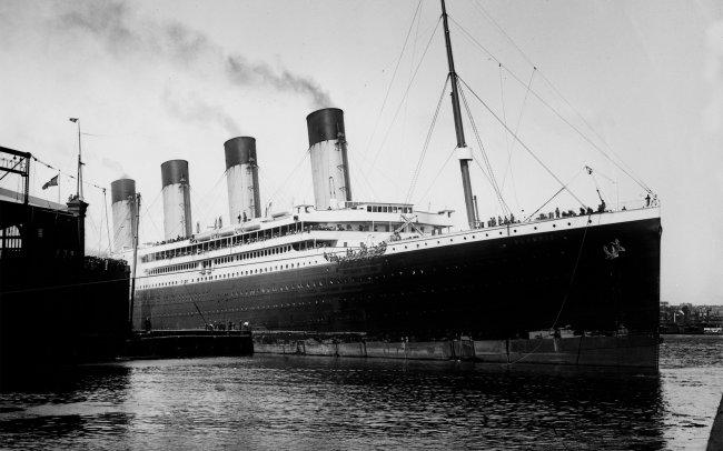 Трансатлантический лайнер Олимпик
