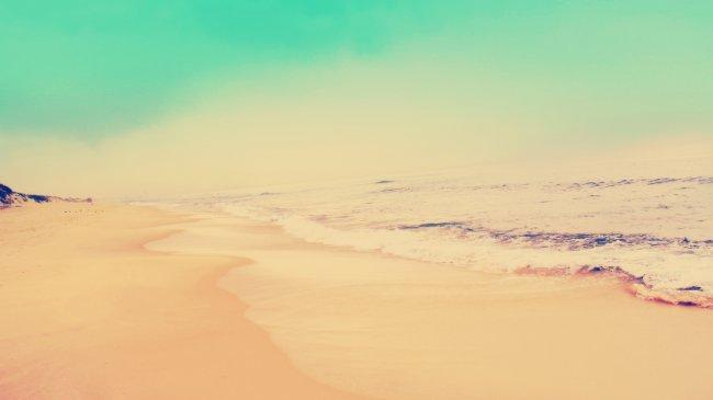 Песчаный пляж на берегу Рио-де-ла-Плата