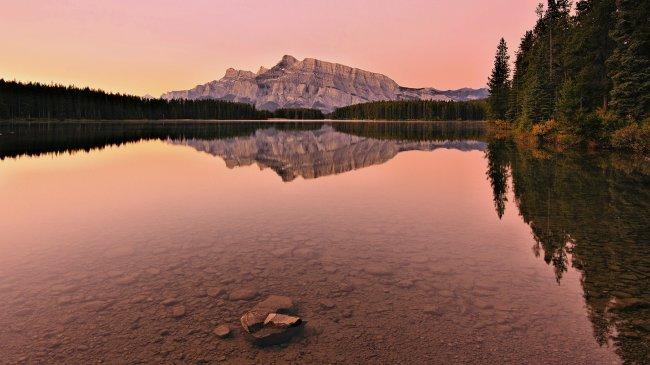 Гора Рандл в Канаде