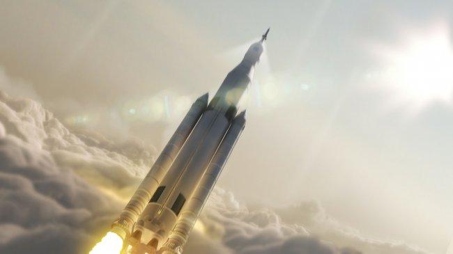 Ракета летящая в космос