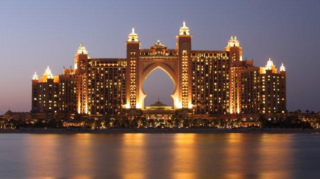 Отель Атлантис в Дубае